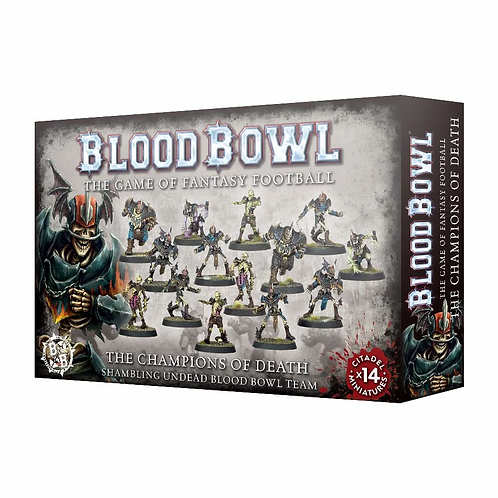 BLOOD BOWL : The Champions of Death - Shambling Undead Team