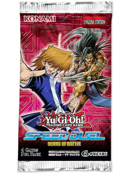 Speed Duel: Scars of Battle Booster Pack