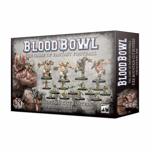 BLOOD BOWL : The Fire Mountain Gut Busters Team