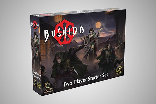 Bushido Risen Sun - Two-Player Starter Set