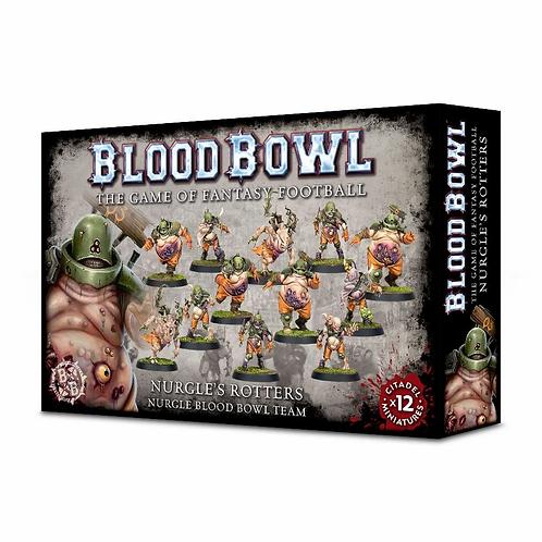 BLOOD BOWL : Nurgle's Rotters - Nurgle Team