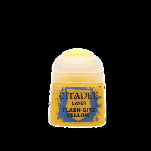 CITADEL LAYER: Flash Gitz Yellow