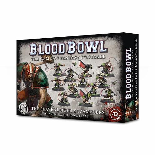 BLOOD BOWL : The Skavenblight Scramblers - Skaven Team