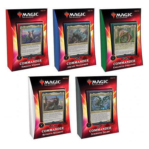 Commander 2020 Deck Set of 5