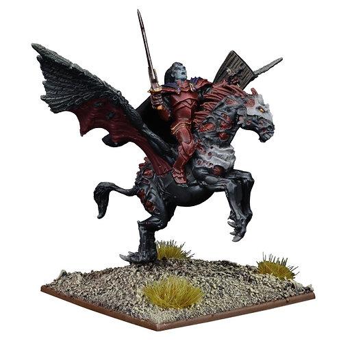 Undead Vampire on Undead Pegasus