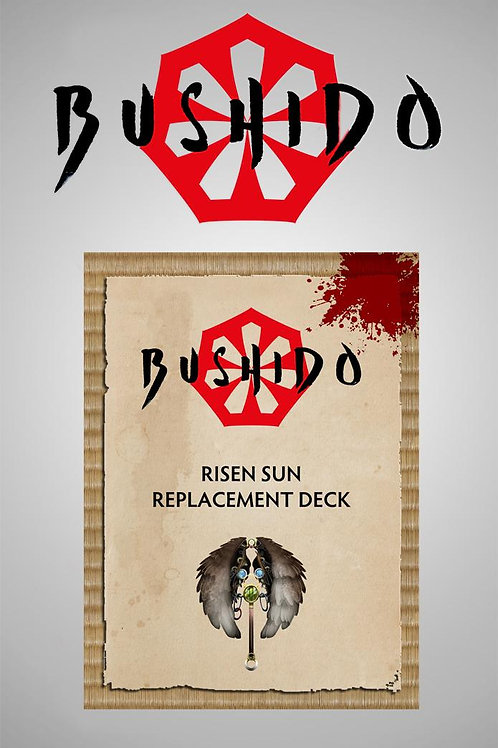 Bushido The Descension - Risen Sun Cards