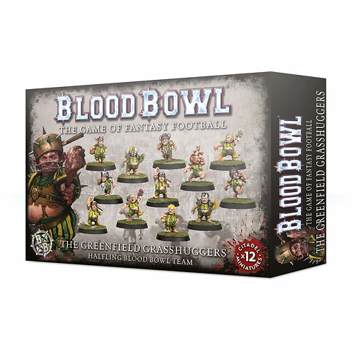 BLOOD BOWL : The Greenfield Grasshuggers - Halfling Team