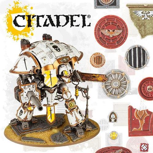 CITADEL BASES: Sector Imperialis Large Base Detail Kit