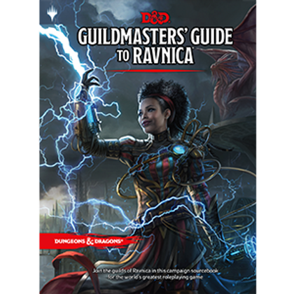 Dungeons & Dragons - Guildmaster's Guide to Ravnica