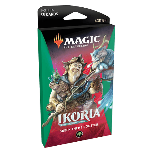 Ikoria Lair of Behemoths: Green Theme Booster
