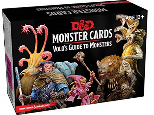 D&D Monster Cards - Volo's Guide to Monsters