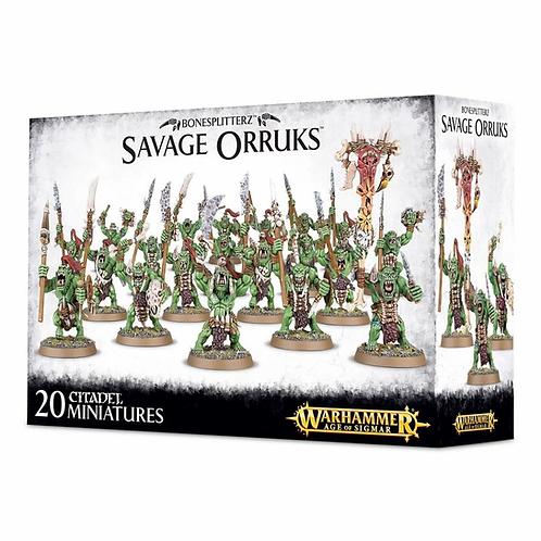 Savage Orruk Arrowboys