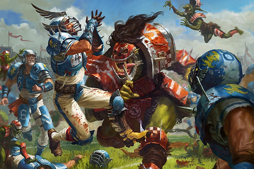 The Red Trophy V Blood Bowl Tournament