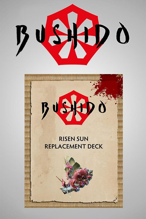 Bushido Jung Pirates - Risen Sun Cards