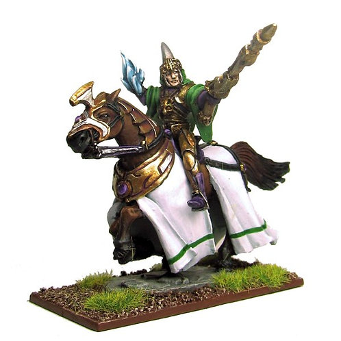 Elf Mage on Horse