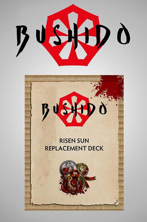 Bushido Silvermoon Syndicate - Risen Sun Cards