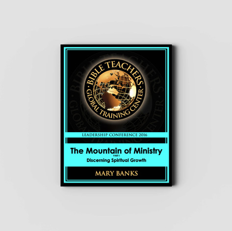 The Mountain of Ministry - Study Guide