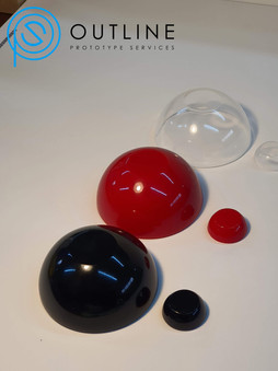 Polished egg castings