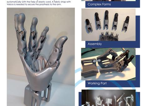 FDM Prosthetic Hand