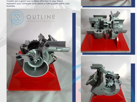 Turbo Model Cutaway