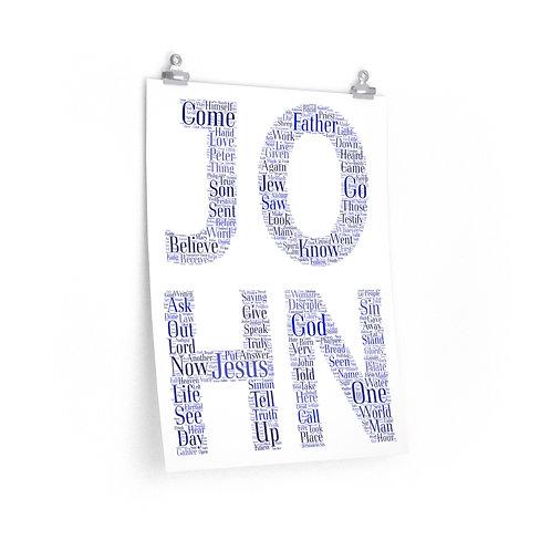 John Vertical Poster