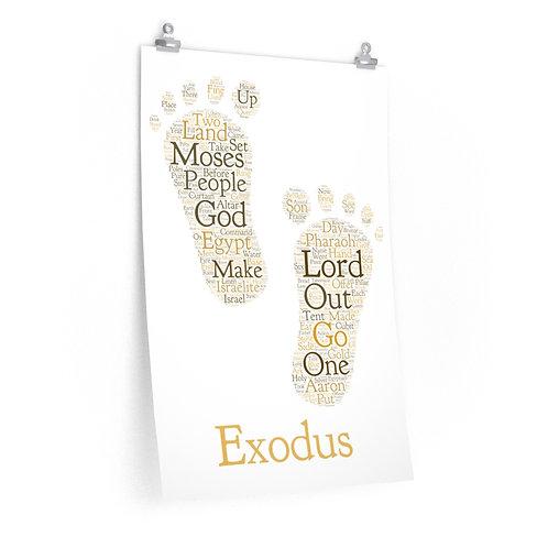 Exodus Art Poster