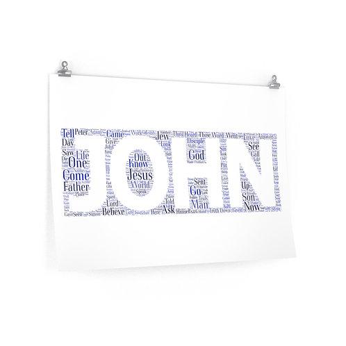 John Horizontal Poster