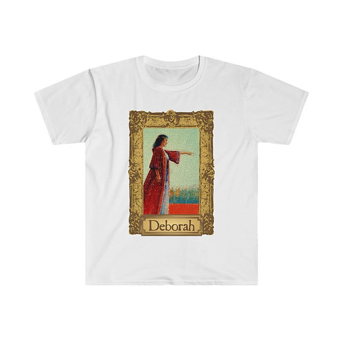 Deborah Portrait Men's Tee (choose your color)