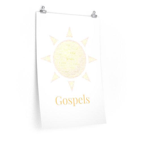 Gospels Art Poster