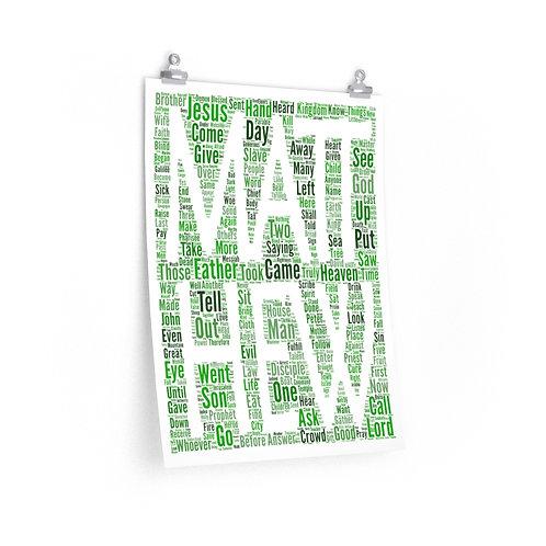 Matthew Vertical Poster