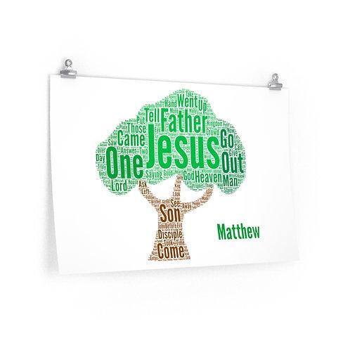 Matthew Art Poster