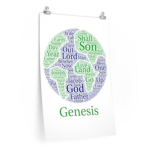 Genesis Art Poster