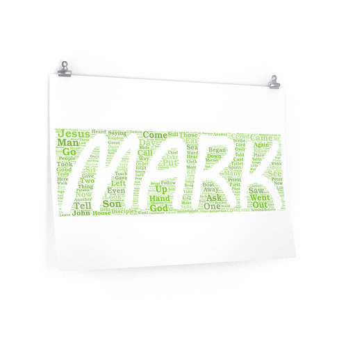 Mark Horizontal Poster