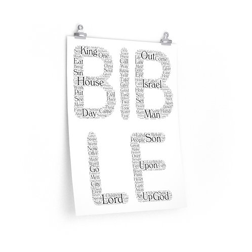 Bible Vertical Poster