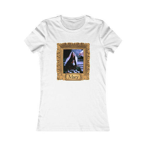 Mary Portrait Women's Tee (choose your color)