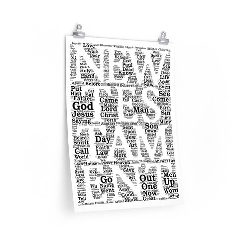 New Testament Vertical Poster