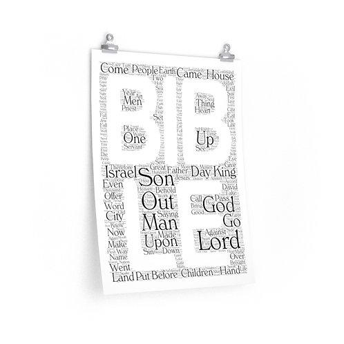 Bible Vertical Poster