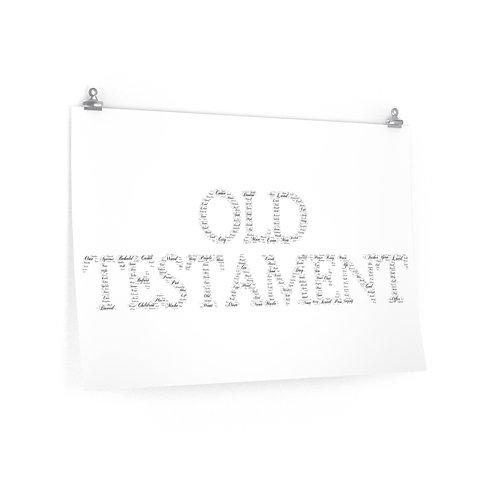 Old Testament Horizontal Poster