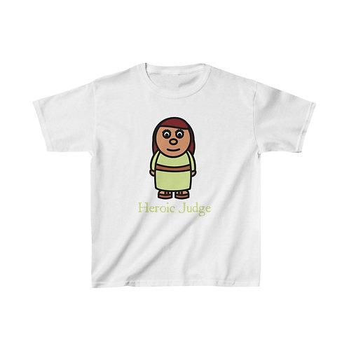 Heroic Judge Kids Shirt (choose your color)