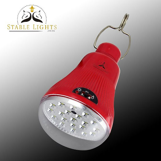 Stable Lights battery solar