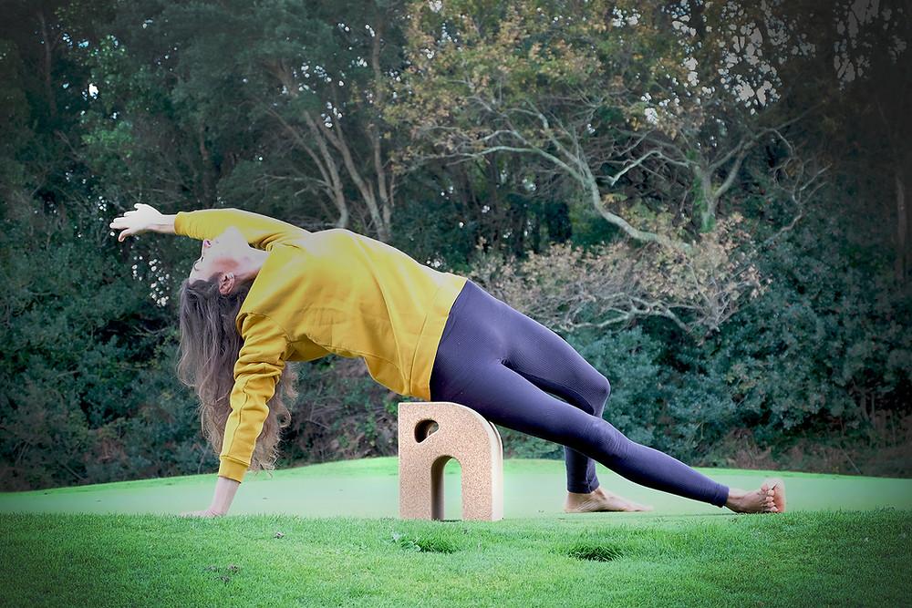 Camatkarasana ouverture du coeur immunité vitalité yoga