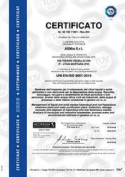 5-Certificato TUV ISO 9001-anno 2019-ASM