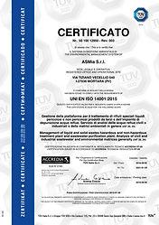 4-Certificato TUV ISO 14001.15-anno 2018