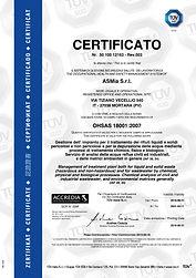 4-Certificato TUV OHSAS 18001-anno 2018-