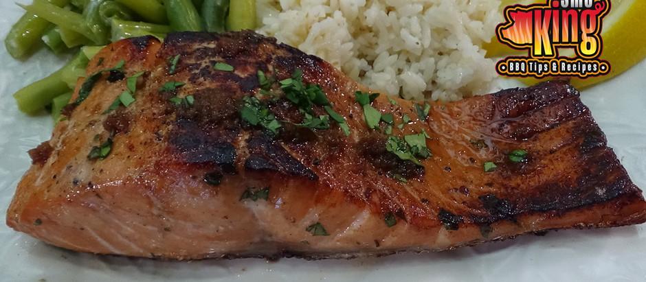 Ginger Soy Sous Vide Salmon