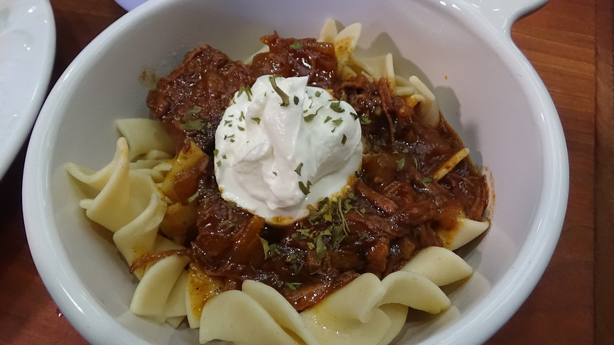 Hungarian Goulash in the Slow Cooker