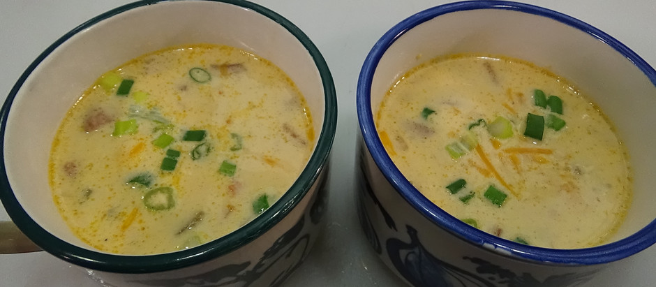 Sausage and Cheddar Beer Soup