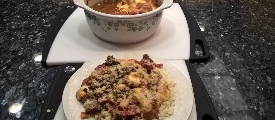 """Original Family Recipe for """"Tomato & Rice"""" Beefy & Cheesy Casserole"""