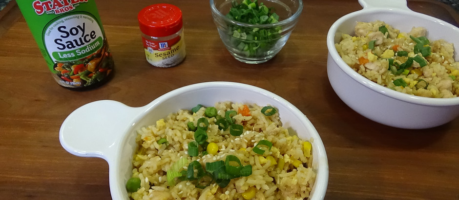 Chicken Fried Rice in the Instant Pot