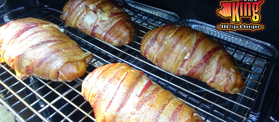 Smoked & Stuffed Bacon Wrapped Chicken Breasts
